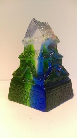 琉璃鑄造協同教學-106學年度南港高工鑄造科遴選業界專家協同教學 學生作品展系列2