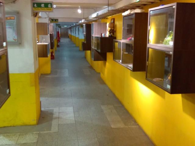 鑄造科實習作品展示走廊