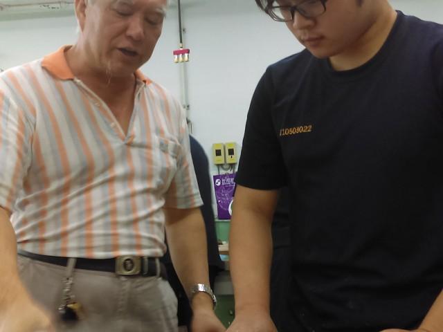 106年度李財旺老師琉璃藝術課程協同教學