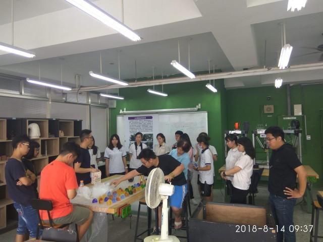 107-1暑假中正高中美術班探究教學工坊-琉璃藝品課程