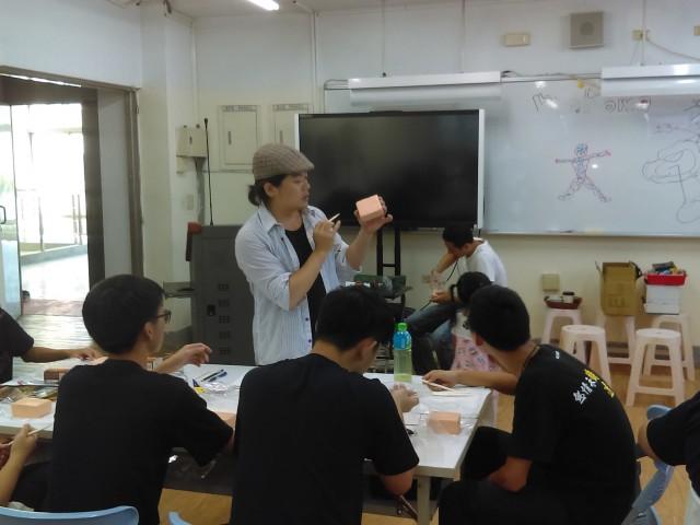 107-1協同教學計畫-模型製作課程-李永丞老師