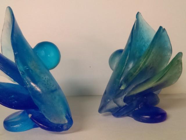鑄二忠琉璃鑄造實習學生作品