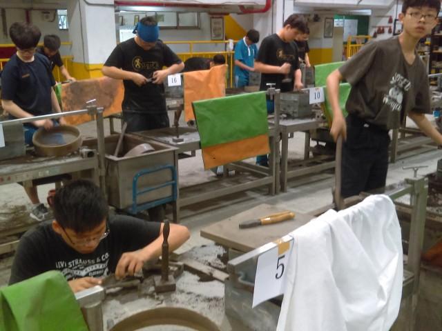 107-2鑄造科校內技藝競賽