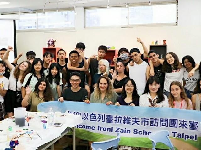 以色列學生至科參訪與體驗課程