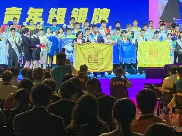 言融同學榮獲50屆全國技能競賽 銀牌